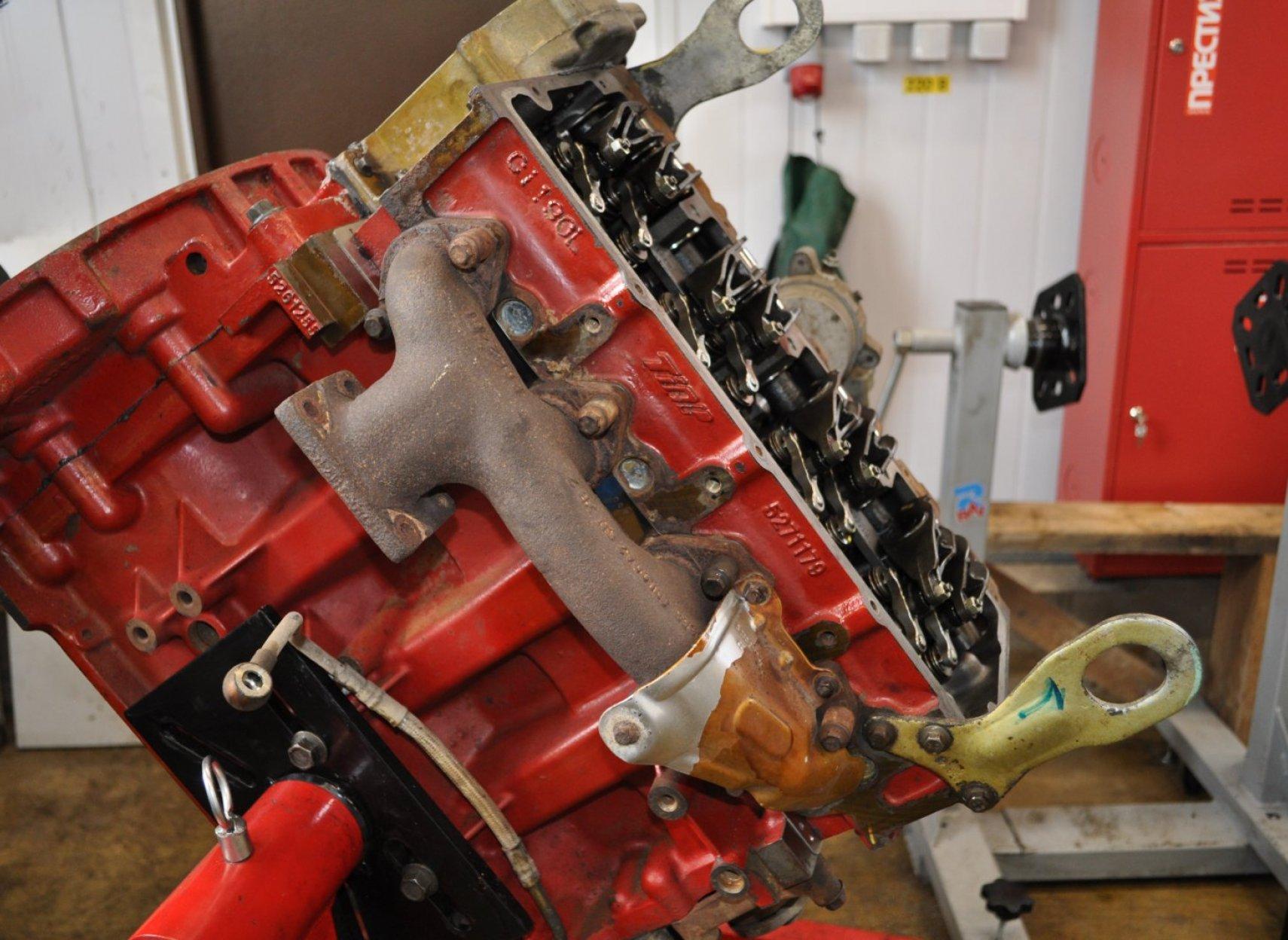 Пошаговый ремонт двигателя 66